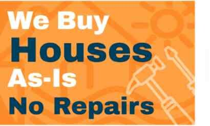"""We pay cash for houses """"as-is"""". No fixing, no repairs."""