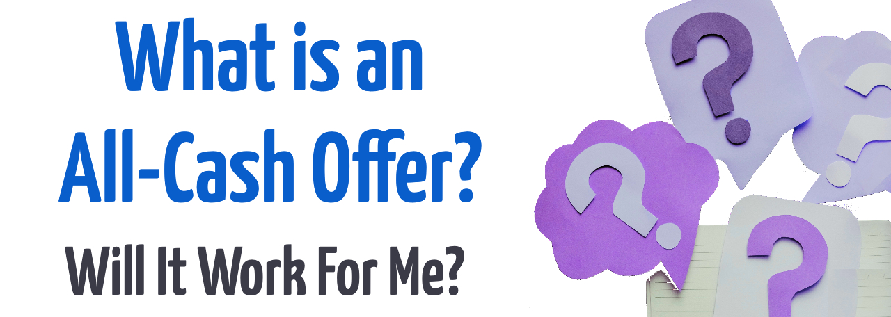 What is an all-cash offer?